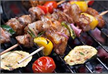 Spaanse BBQ van Casa di verdi catering in Vaassen